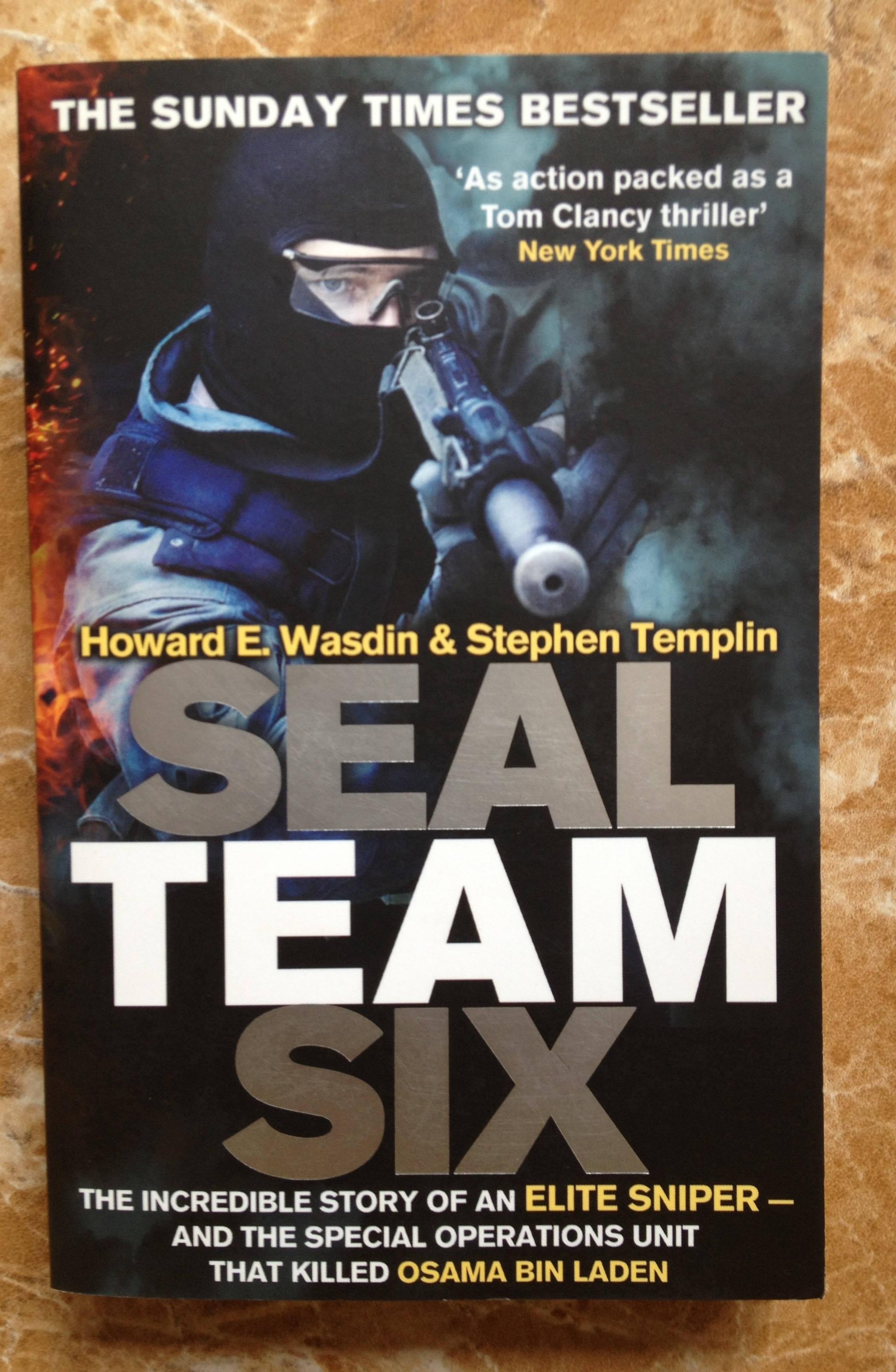 SEAL Team Six by Howard Wasdin and Stephen Templin
