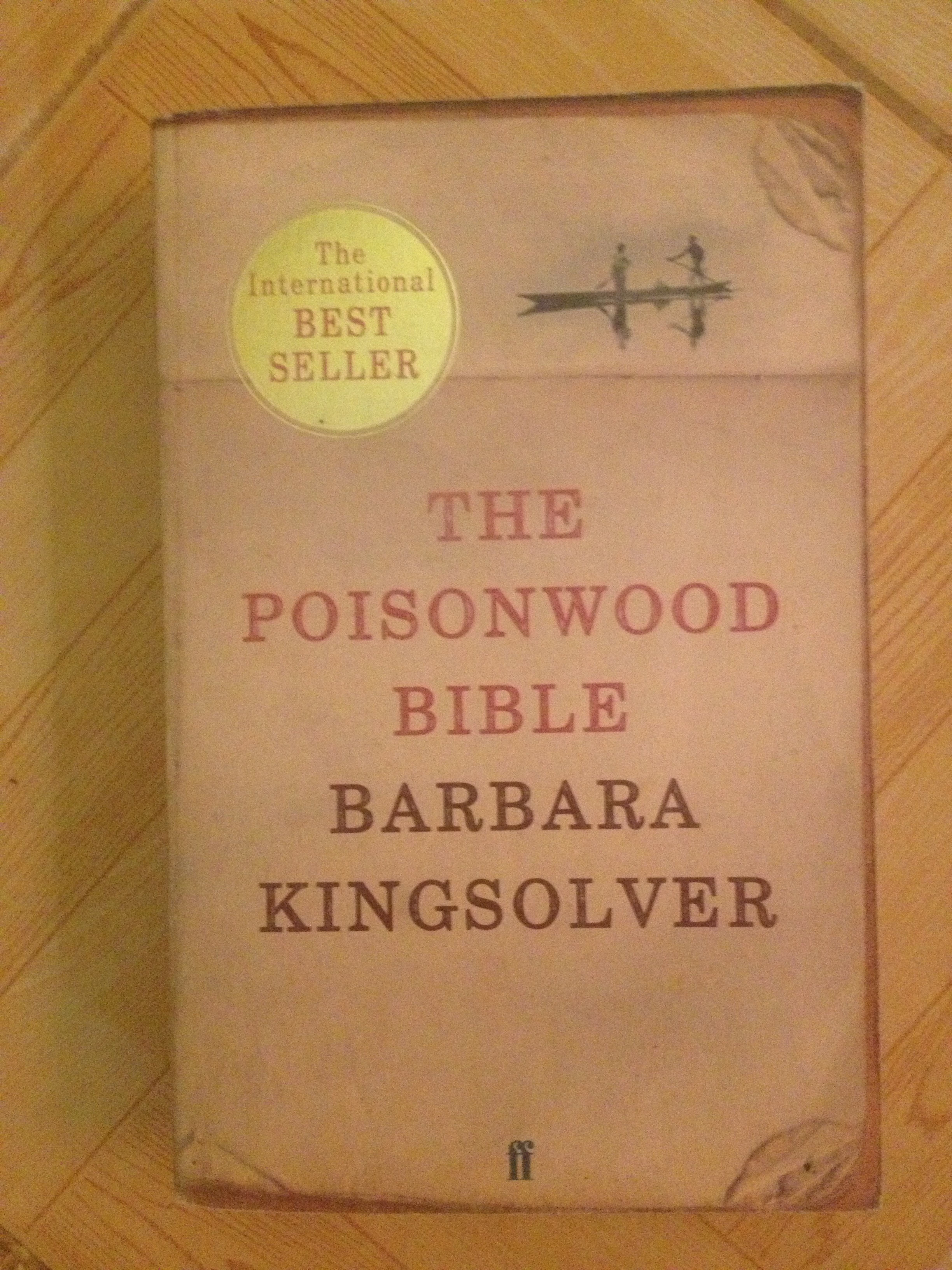 the poisonwood bible by barbara kingsolver contador harrison front cover of the latest version of the poisonwood bible by barbara kingsolver