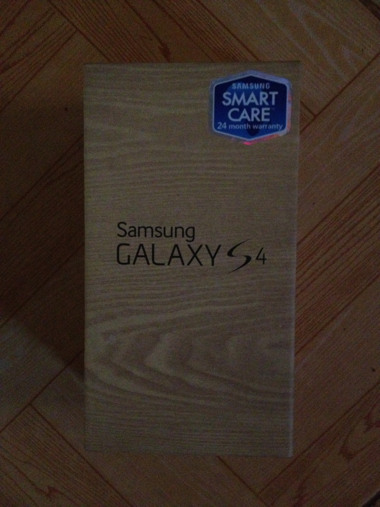 Galaxy S4 Package