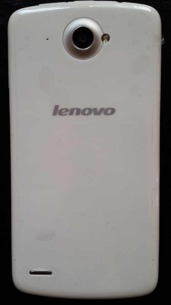 Lenovo S920 backside looks very attractive...