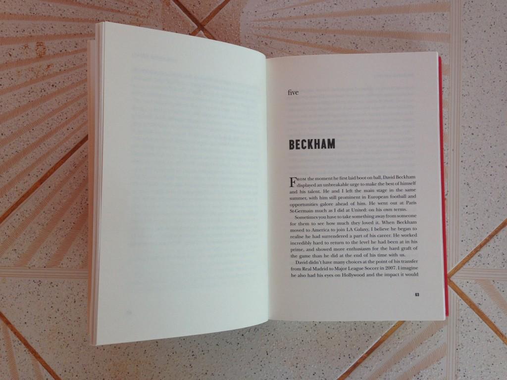 Chapter five of the Alex Ferguson:My Autobiography focused on David Beckham