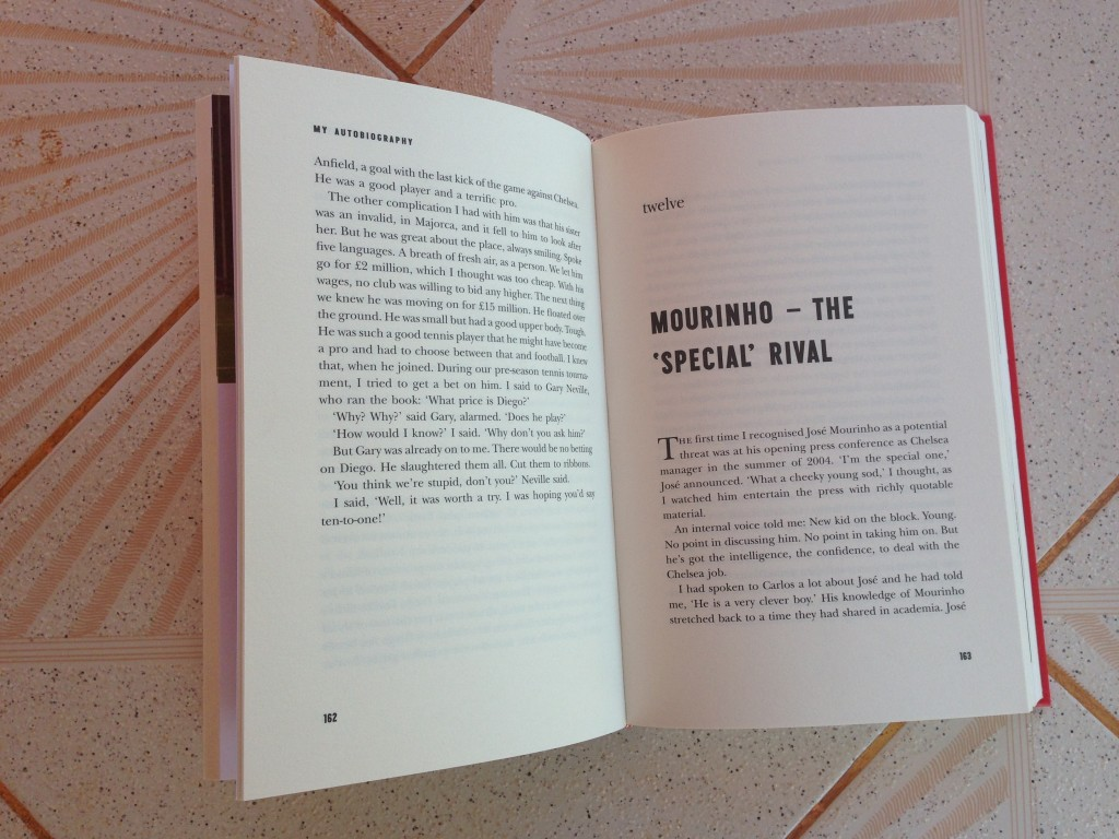 Chapter twelve of Alex Ferguson:My Autobiography focused on Jose Mourinho