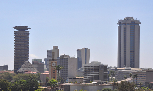 Nairobi, Kenya's capital where more than half the country's Data Centers are located