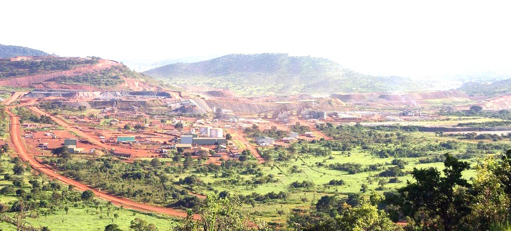 Geita Gold Mine in Western Tanzania