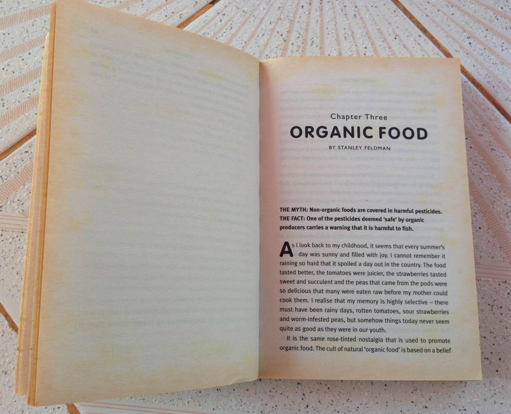 Chapter three focused on organic food
