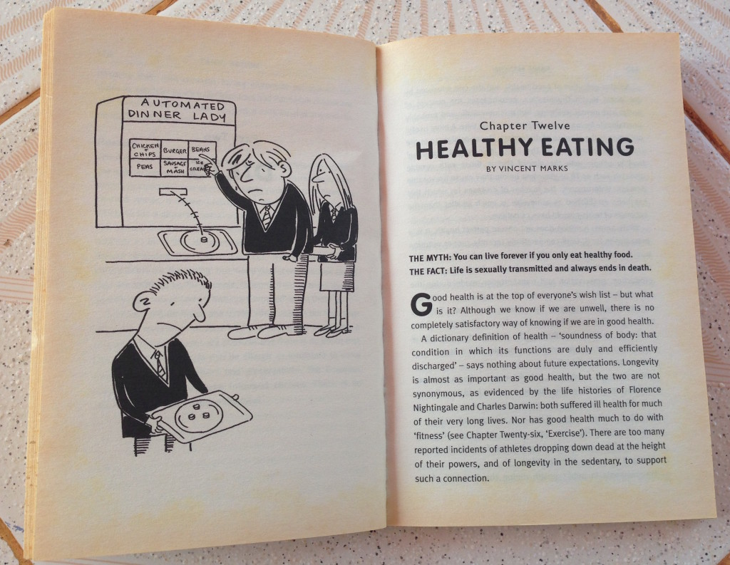Healthy Living was the title of chapter twelve