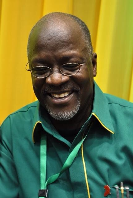 John Pombe Magufuli who was picked on July 12th 2015 as CCM Tanzania Presidential candidate