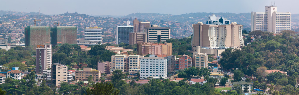 Kampala Skyline as seen in this photo I took late recently