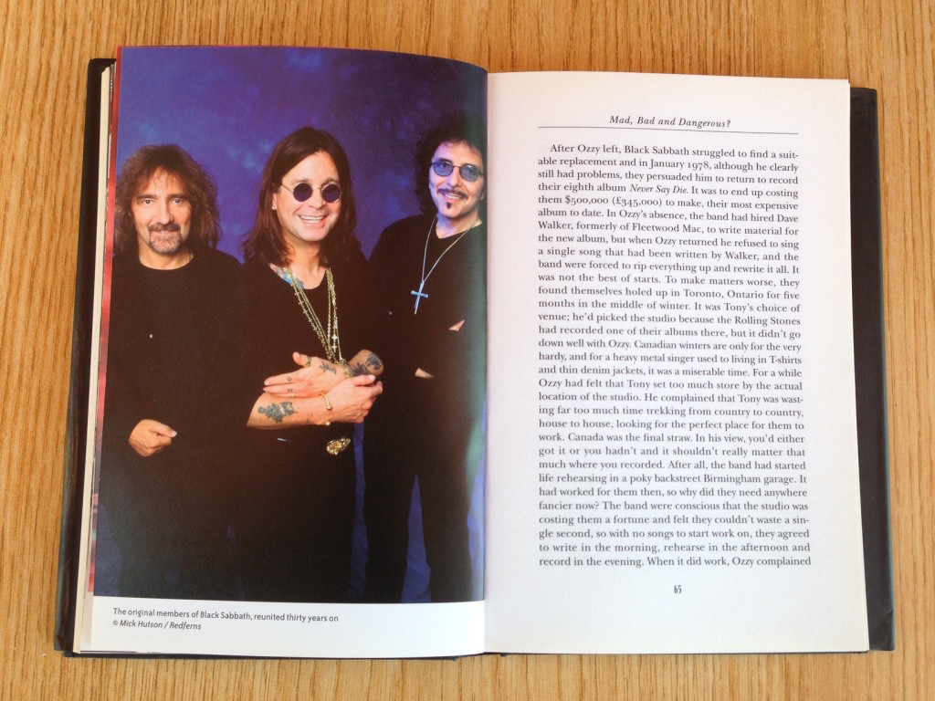 Original Black Sabbath after reuniting in their 30th anniversary
