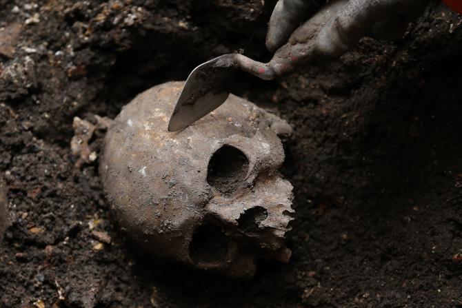 One of the skull discovered in Nataruk South of Lake Turkana - Courtsey - Nature Magazine