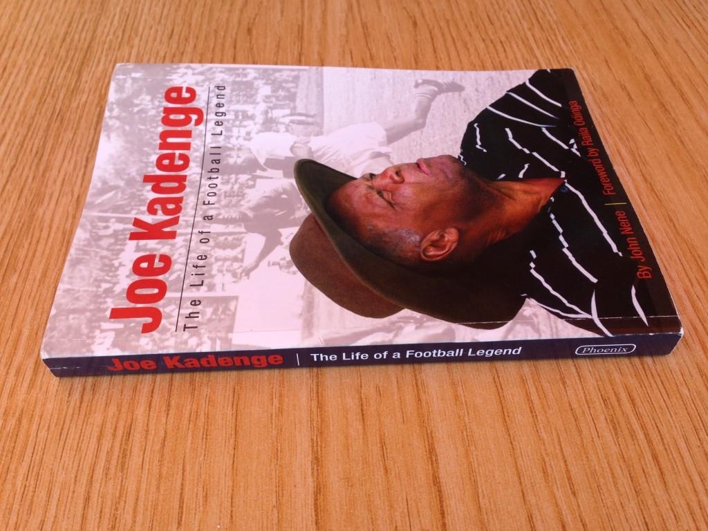 Front cover of Joe Kadenge's book