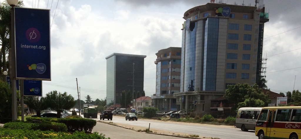 Tigo new head offices in Makumbusho, Dar Es Saalam in this photo i took couple of years back