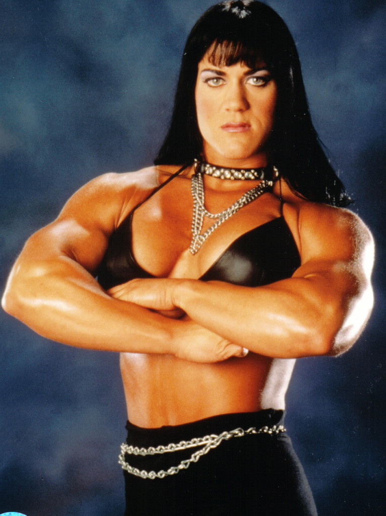 "Chyna ""The Ninth Wonder of the World"" during her hey days in Wrestling"