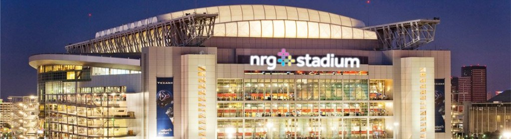 NRG Stadium, Houston, Texas where Atlanta Falcons will meet New England Patriots