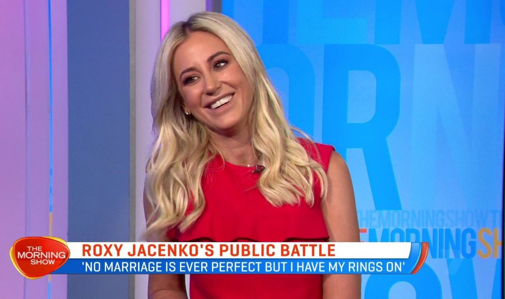 Less than two months since Roxy Jacenko declared she's not single on The Morning Show people still can't give her a break!
